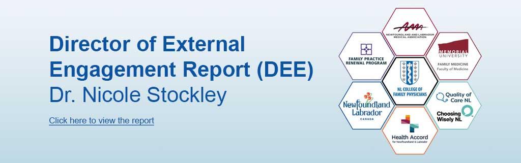 dee report banner