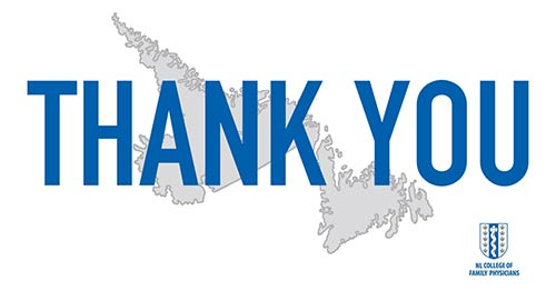 Thank you with map of Canada.